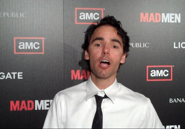 Dan at Mad Men premiere
