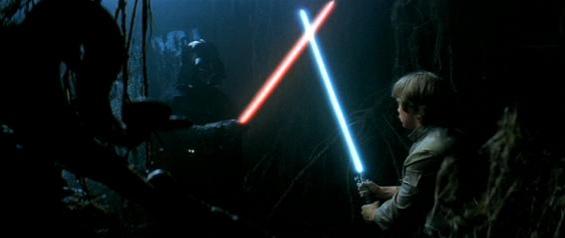 Luke's failure in the cave