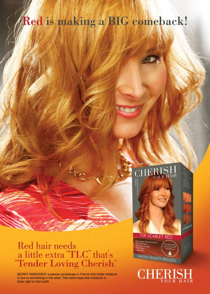 Lisa Kudrow hair ad The Comeback