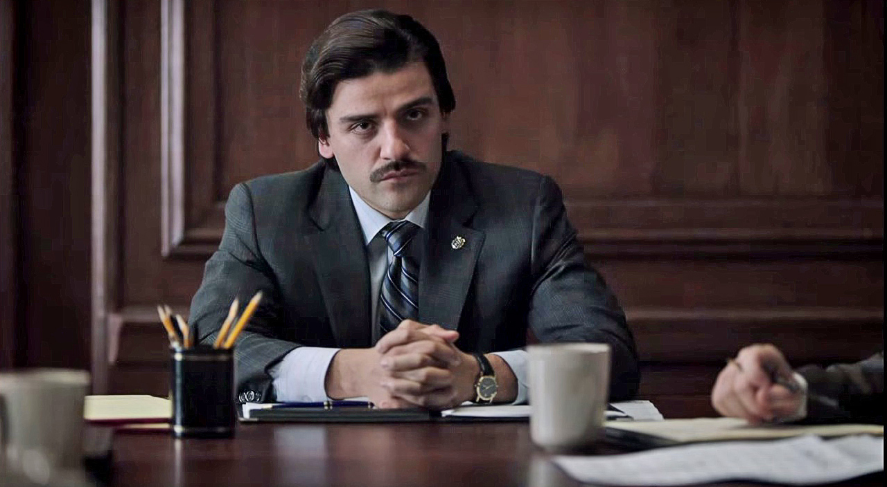 "Oscar Isaac in ""Show Me a Hero."""